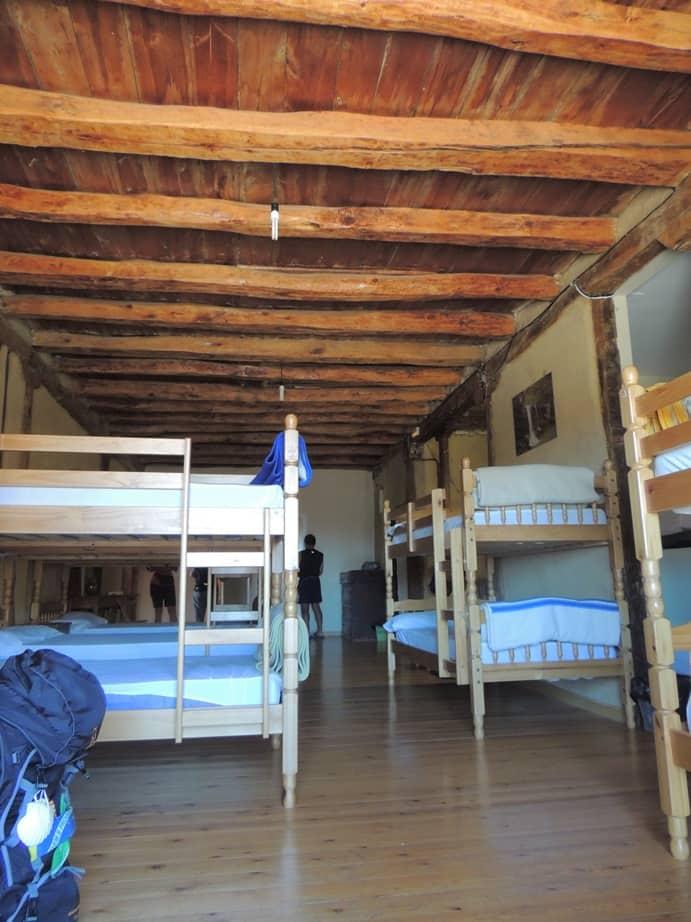 Esse é o quarto dos peregrinos.
