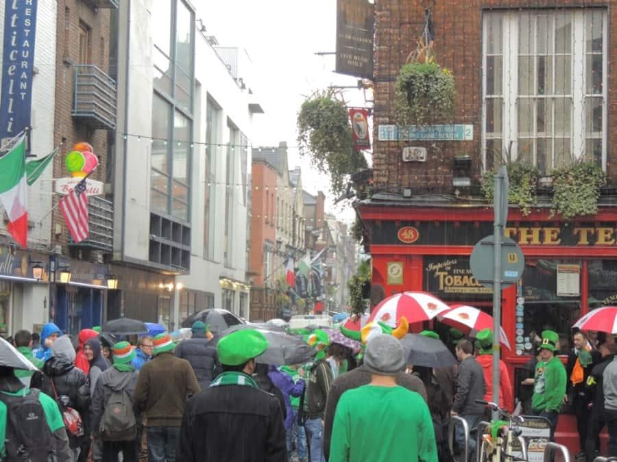 Um típico dia irlandês...chuva!!