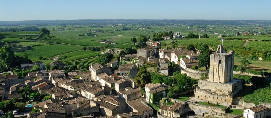 VIsta da cidade de Saint Emilion
