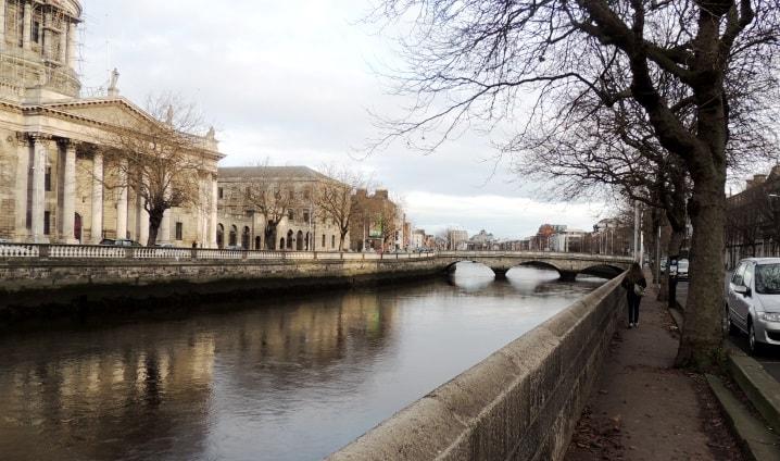 Liffey - o coração de Dublin