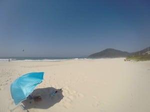 """A """"brisa"""" na Praia Brava"""