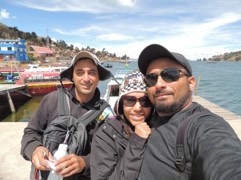 Atravessando o Titicaca rumo a Copacabana