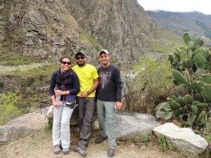 Inicio de trilha para Machu Picchu