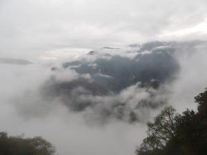 Nossa vista de Machu Picchu do Portão do Sol!!