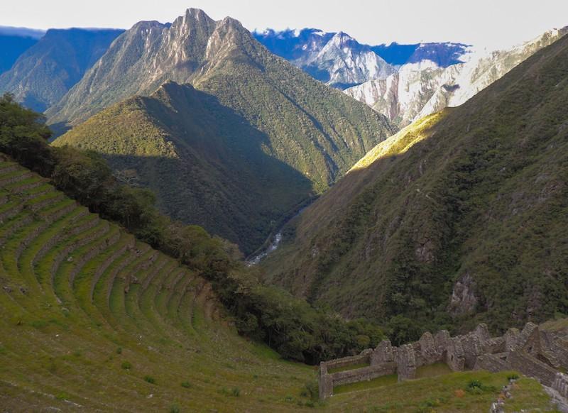 Vista do sitio Wiñaywayna