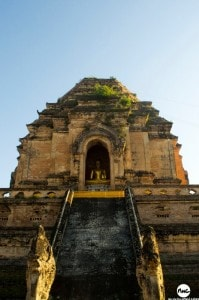 Wat Chedi Luang - outra perspectiva