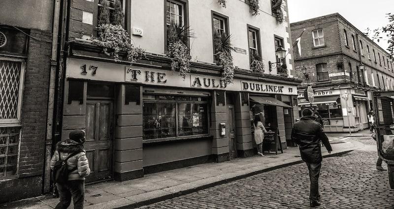 Uma volta no tempo bem no centro de Dublin