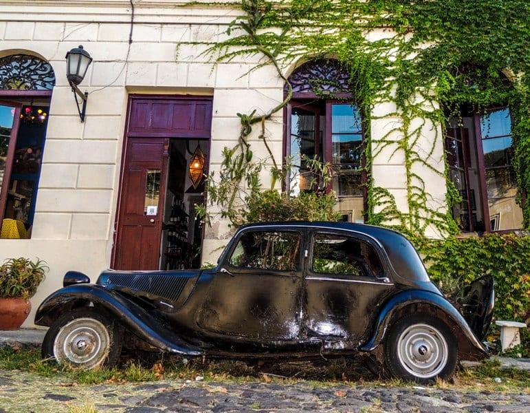 A utilidade de carros antigos