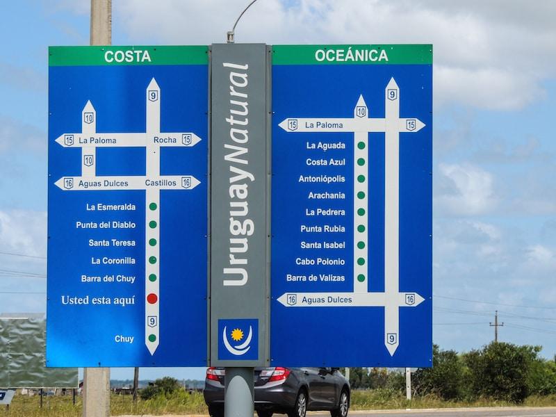 Chegamos ao Uruguai