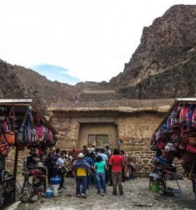 Portão de entrada do sítio Ollantaytambo