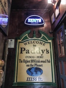 The Highest 100% Irish Owned Pub