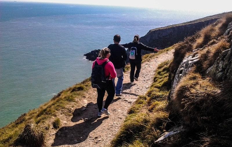 Mais um walk cliff - Howth