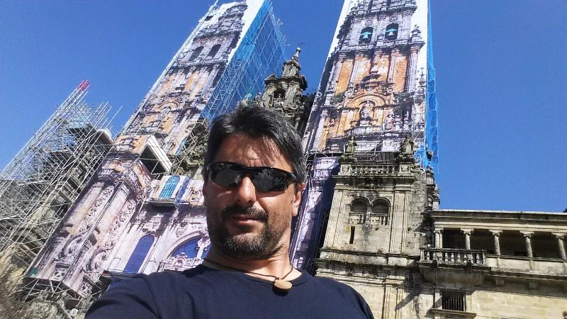 Enfim a Catedral de Santiago