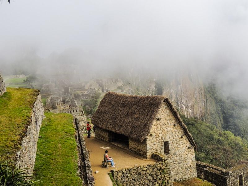 Casa do Guardião - uma guarita