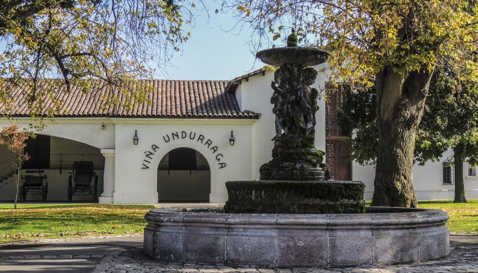 Viña Undurraga - quase 150 anos de história