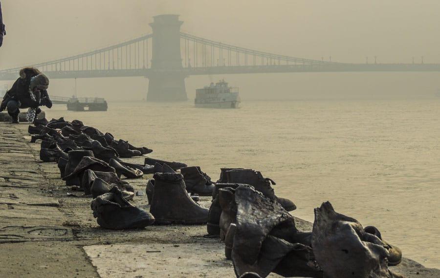 Sapatos de ferro Budapest