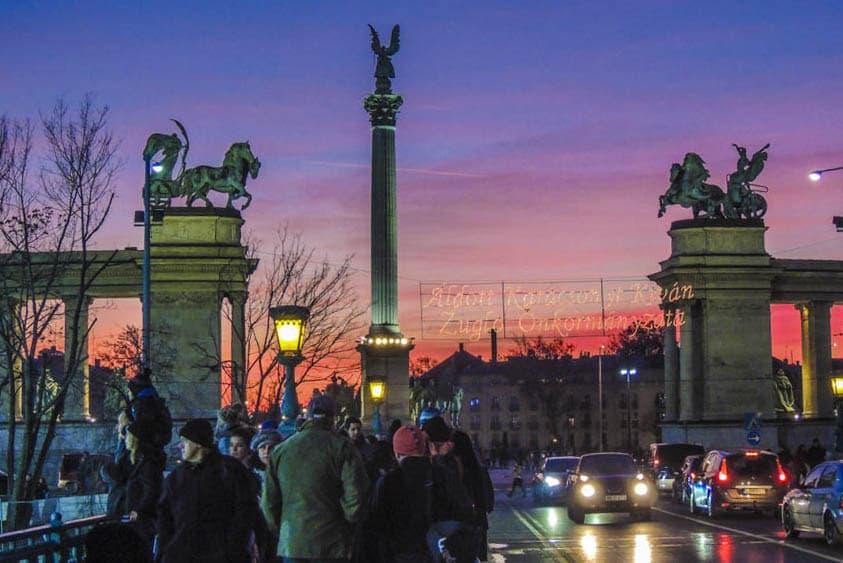 Budapeste Praça do Heróis