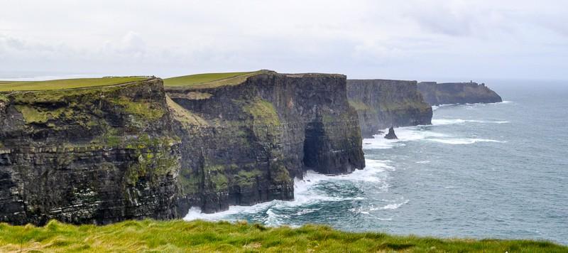 Economizando na Europa - Cliffs od Moher