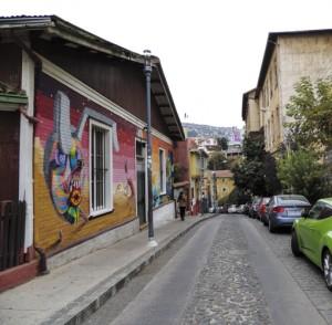 Pelas ruas do Cerro Alegre