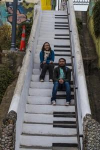 Escada de piano